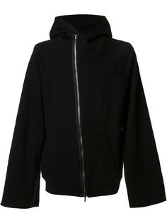 rear print zip hoodie  Julius