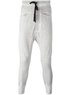 спортивные брюки с заниженной проймой Thom Krom