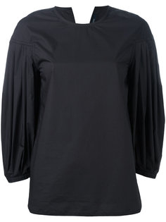 pleated sleeves blouse Sofie Dhoore