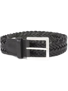 interlaced leather belt Rag & Bone