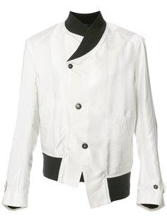 asymmetric jacket  Ann Demeulemeester Grise