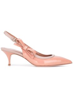 туфли с открытой пяткой Red Valentino