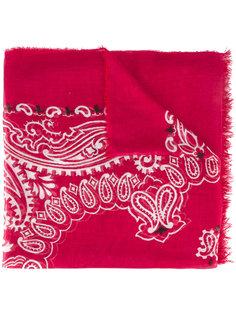шарф с абстрактным принтом Dondup