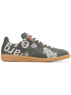 Replica printed sneakers Maison Margiela