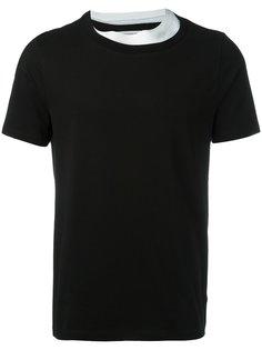 футболка с многослойной горловиной Maison Margiela