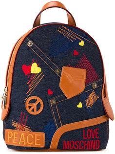 рюкзак Peace Love Moschino