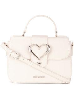 сумка через плечо с элементом сердца Love Moschino