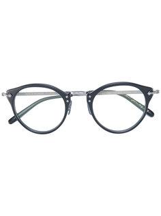 очки в круглой оправе Oliver Peoples