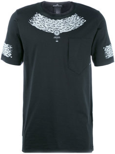 compass print T-shirt Stone Island Shadow Project