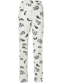 floral print trousers Ganni