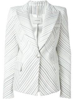 пиджак в полоску Pierre Balmain