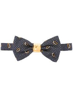 жаккардовый галстук-бабочка  Cor Sine Labe Doli