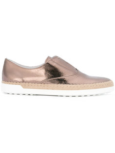 shinny loafers  Tods
