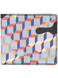 printed bifold wallet  Pierre Hardy
