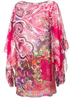 пляжное платье с цветочным узором Etro