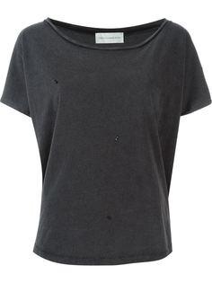 футболка с глубоким вырезом  Faith Connexion