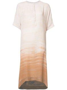 dip-dye print tunic Raquel Allegra