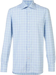 plaid shirt Isaia
