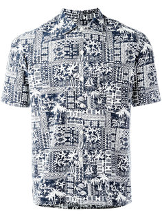 printed shorsleeved shirt  Salvatore Piccolo