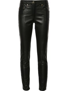 skinny two-tone trousers Boutique Moschino