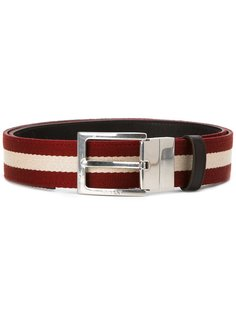 striped belt Bally