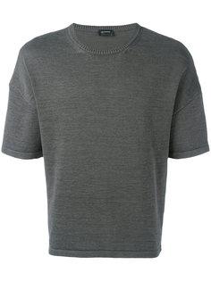 свободная футболка Jil Sander
