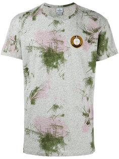 футболка с заплаткой и абстрактным принтом  Vivienne Westwood Man