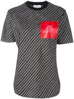 футболка в полоску Carven