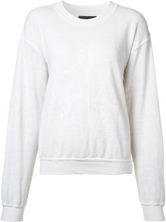 round neck sweatshirt  Baja East