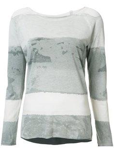 tie-dye print T-shirt Raquel Allegra