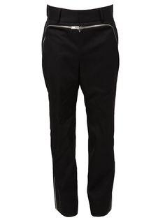 брюки с декоративной молнией Juun.J