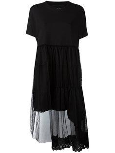 расклешенное платье Simone Rocha