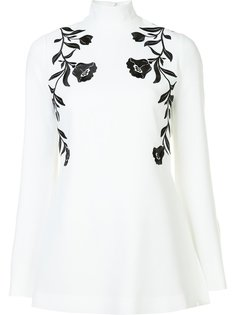 floral embroidered blouse Cinq A Sept