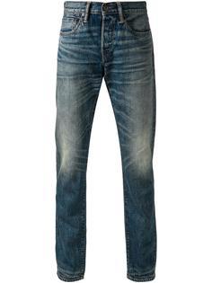 выбеленные джинсы кроя слим  Simon Miller
