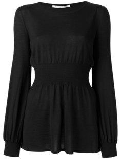 блузка с оборками  Agnona