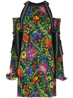 платье с открытыми плечами  3.1 Phillip Lim