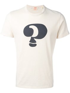 футболка 1960s Graphic Question Mark Levis Vintage Clothing
