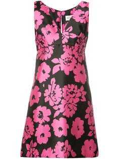 floral print V-neck dress Milly