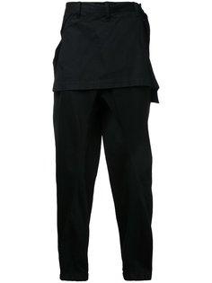 джинсы с накладной панелью Julius