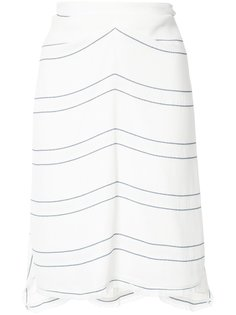 striped panel skirt Proenza Schouler