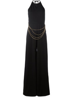 chain belt jumpsuit Pierre Balmain