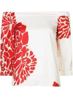 floral print blouse Tibi