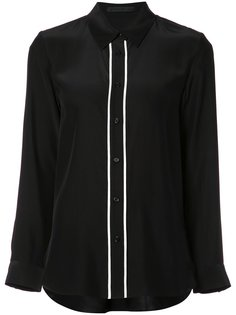 contrast trim button-up shirt Jenni Kayne