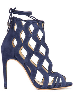 laser cut sandals  Alexandre Birman