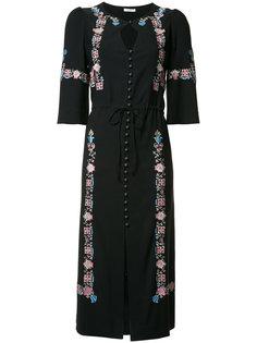 cut-out detail buttoned dress Vilshenko