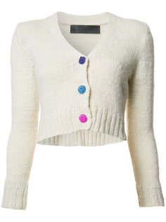 V-neck cropped cardigan The Elder Statesman