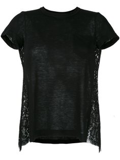 lace back T-shirt Sacai