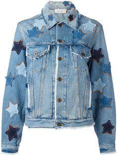джинсовая куртка с нашивками Faith Connexion