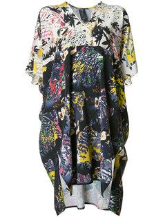 abstract print shift dress Zero + Maria Cornejo