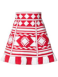 Aztec embroidery skirt   Vita Kin